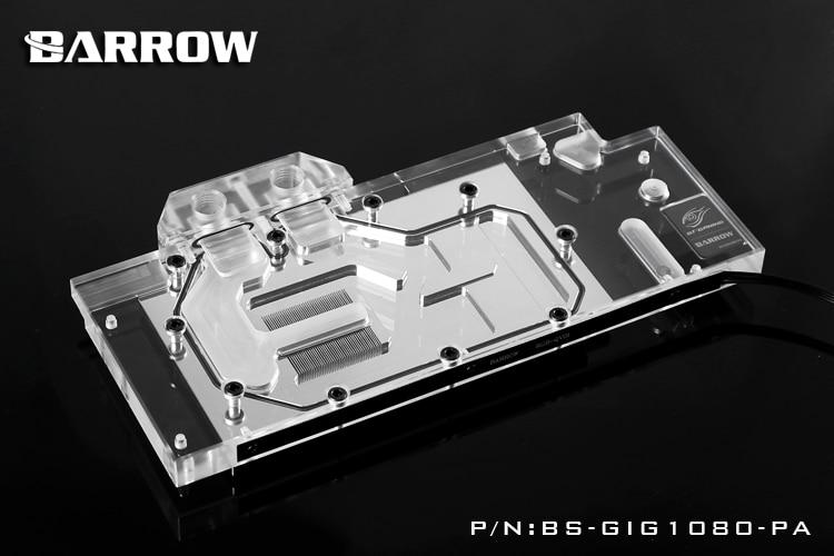 Barrow BS-GIG1080-PA Block for GIGA GTX1080 1070 1060 G1 Gaming deuter giga blackberry dresscode