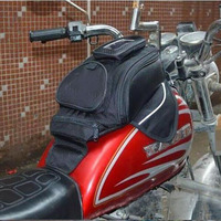 MOTRAVEL Black Oil Fuel Tank Bag Motorcycle Magnetic Top Cases Motorbike Oil FuelTank Bag Moto Accessory