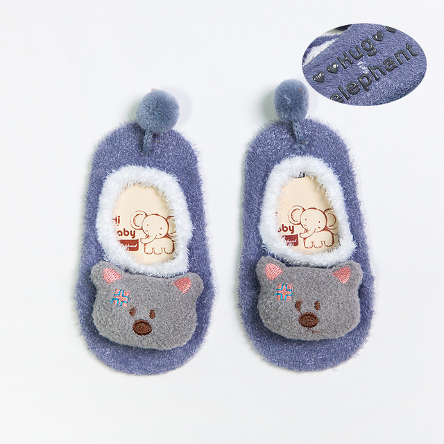 Warm Animal Cartoon Shoes
