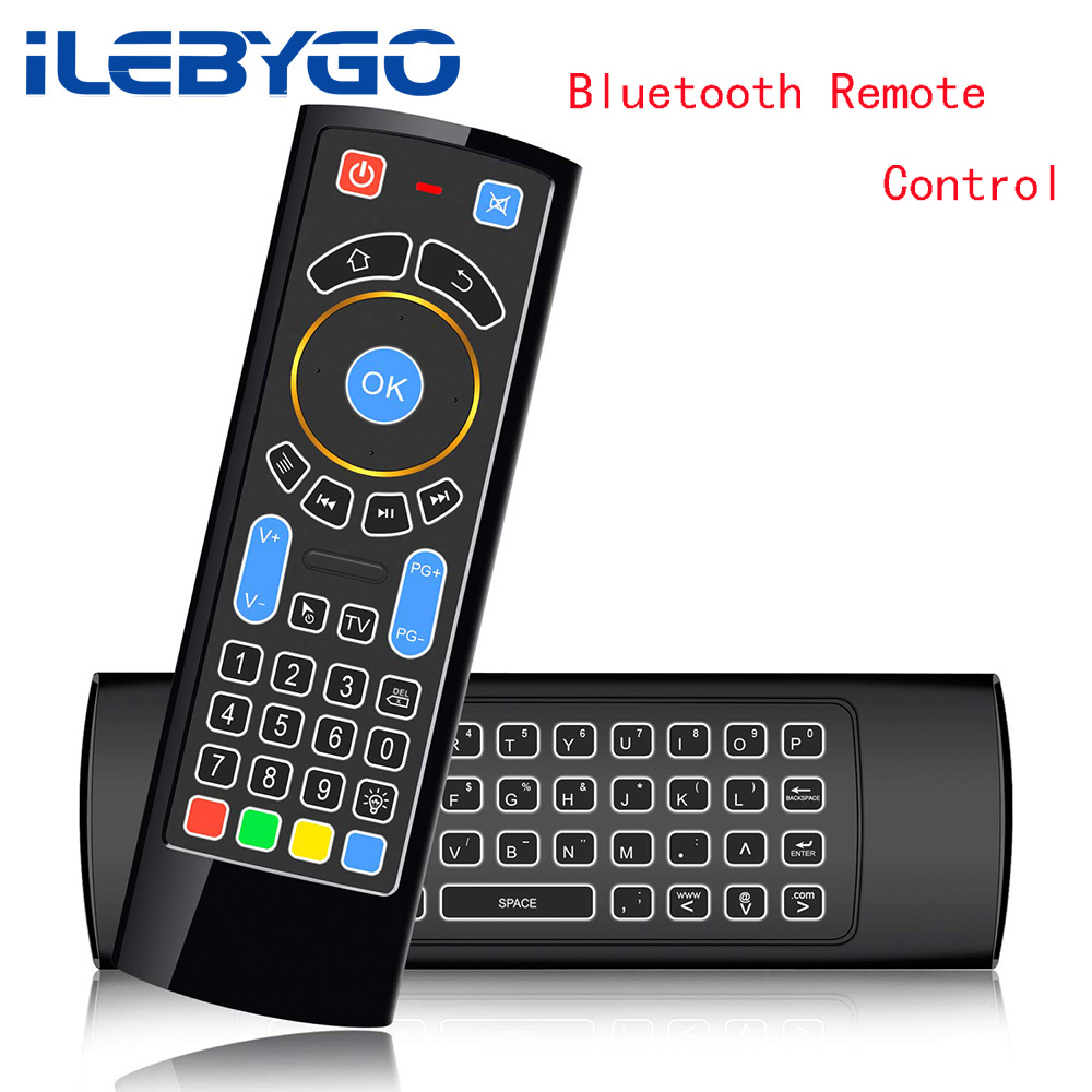 2 4g wireless keyboard controller bluetooth remote control fly air mouse for amazon fire tv. Black Bedroom Furniture Sets. Home Design Ideas