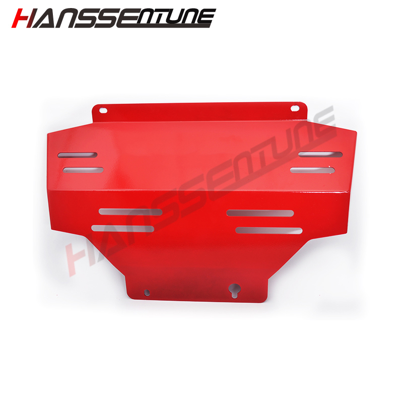 HANSSENTUNE 4x4 car Steel Front Engine Protection Skid Plate Engine Bash For NAVARA NP300 lift kit for toyota hilux revo