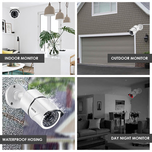 Image 5 - ZOSI 2,0 mp 1080P Volle HD Überwachungs Kameras Starke Infrarot 1080P HD TVI Sicherheit Kamera CCTV Kamera Video Kameras