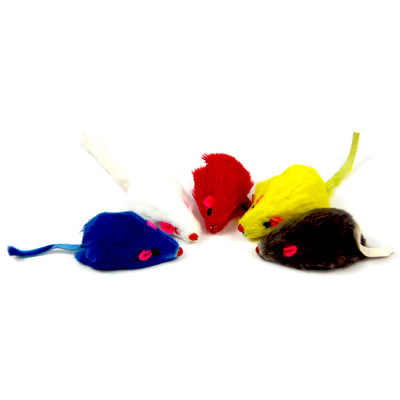 1pc/10pcs/lot Mini Colorful Cat Toys Plush False Mouse Toys for Cats Kitten Animal Funny Playing Pet Cat Products Cat Supplies