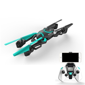 QI ZHI TOYS QZ-S8 S8 Wifi FPV 0.3MP Camera 6-axis Gyro Air Press Altitude Hold Foldable Arm RC Quadcopter RTF 2.4GHz радиоуправляемые вертолеты wl toys q222k wifi fpv rtf