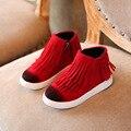 Niños Botas 2016 Niños Libres Del Envío Calza Muchachos Zapatos de Moda botas Casuales Zapatos de Los Niños Para Niños Niñas Botas de Deportes de Los Niños zapatos