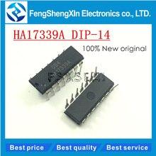 10pcs/lot New HA17339A HA17339 Quadruple Comparators IC DIP-
