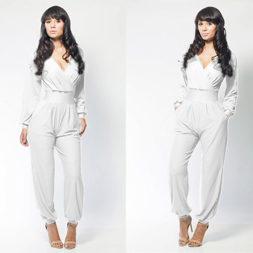 5036987b8671 2014 new fashion sexy chic jumpsuits spring jumpsuit bandage red bule  jumpsuit A classy and elegant jumpsuit on Aliexpress.com | Alibaba Group