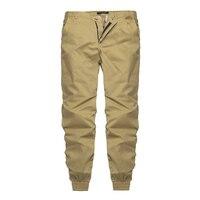 2017 Autumn Pants Mens Casual Hip Hop Trousers Fashion Slim Fit Joggers Soft Sweatpants Chinos Elastic