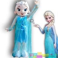 High Quality Adult for Elsa costume Elsa princess mascot costume Elsa princess mascot clothing taken in kind