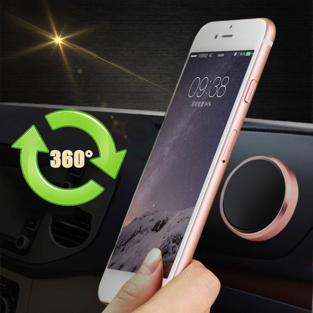 Magnetic Car-styling Mobile Phone Holder Car Navigator Dashboard Auto Magnet Smartphone Stickers Stand For iPhone Samsung Xiaomi