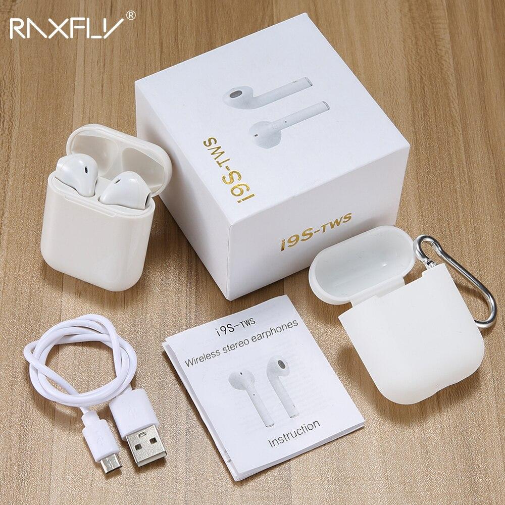 RAXFLY i9s TWS Bluetooth Kopfhörer Mit Mic Wireless Bluetooth Kopfhörer Headsets In-Ear Ohrhörer Für Air schoten Mit Lade Box