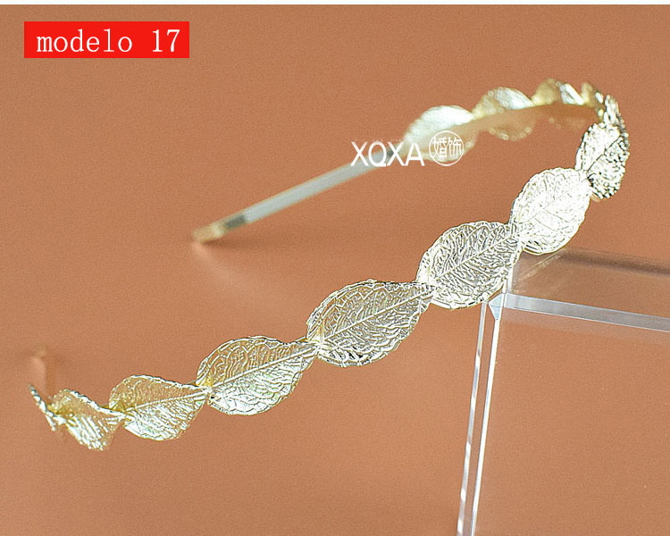 Moda feminina strass cristal cabeca bandagem no cabeca coroa Tiara de noiva de cabelo acessorios (7)