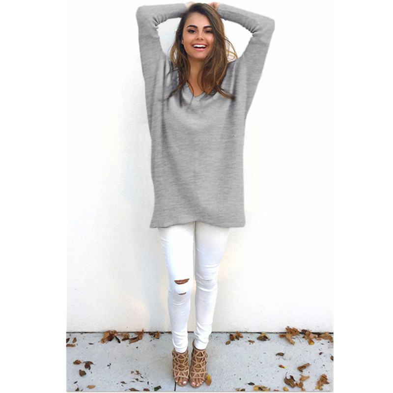 SINFEEL 3XL Autumn Winter New 2018 Sweater Casual Women Sweaters and Pullovers Knitted Jumpers Long Loose Pull femme Plus Size in Pullovers from Women 39 s Clothing