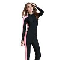 Pływanie Nurkowanie Wetsuit Mężczyźni Kobiety Strój Kąpielowy Surf Całego Ciała Tkaniny Lycra Wodoodporna Pływanie Nurkowanie Plus Rozmiar S-4XL