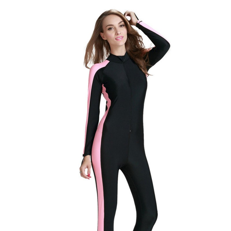 Swimming Diving Wetsuit Men Women Swimsuit Lycra Waterproof Swimming Diving Surf Full Body Cloth Plus Size S - 4XL