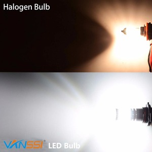 Image 4 - VANSSI 1400 Lumens Extremely Bright 1020 Chips 9006 HB4 H10 9140 9145 H16 H11 H8 LED Fog Light Bulbs, 6000K White,2 Pieces