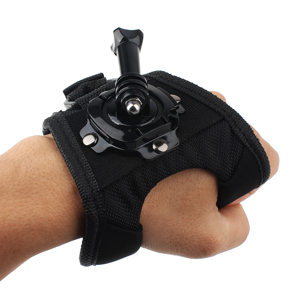 Wrist Band 360 Degree Rotation Hand Strap Belt Tripod Mount For Gopro eken yi SJCAM SJ4000 5000 Sj8 Series Sj6 Legend Sj7 Star
