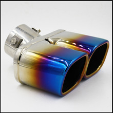 Automobile Exhaust Tip Tail Pipe Muffler for 2014 changan CS75 2015 Hyundai IX25