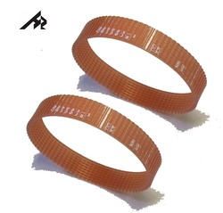 1 Pair Portable Planer Drive Poly-V Belt 225083-1 for Makita 2012NB 8-341 CB130J8