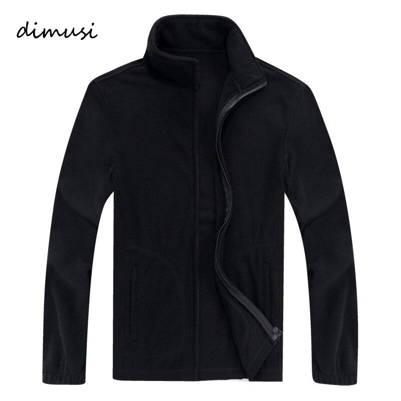 DIMUSI Winter Men's Jacket Men Thick Polar Softshell Fleece Jacket Thermal Male Casual Windbreaker Sweatshirt Coats 8XL,TA160