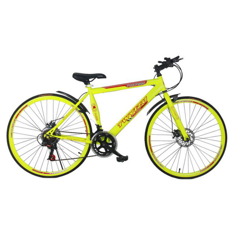 Selling 18 Speed Highway Professional Car Disc Brake 28 Inch Straight One Round Bicycle Partsretail Road Bikes