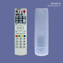 YCDC Home Accessory 20.5x5cm Silicone Case Cover For Haier GREE TV Air Condition Remote Control Dustproof Silicone Case