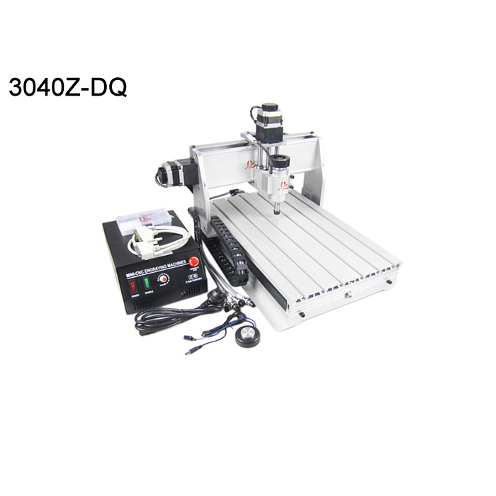 Best cnc machine 3040Z-DQ ER11 3AXIS Ball screw wood caving router for pcb pvc stone etc. 2 2kw 3 axis cnc router 6040 z vfd cnc milling machine with ball screw for wood stone aluminum bronze pcb russia free tax