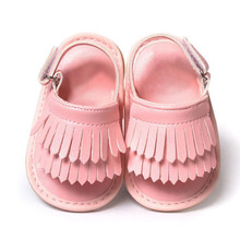 Baby Sandals Summer Leisure Fashion Baby Girls Sandals of Children PU Tassel Shoes Free shipping