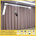 Free shipping SILENT electric curtain blind, 3.0-5.0m width, custom-made size,App and Android control acceptable