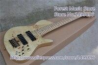 Новое поступление китайская шея через гитара из ясеня 5 струн Fodera император электрическая бас гитара бесплатная доставка