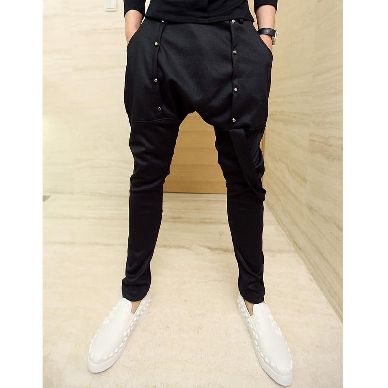 Buy Harem Pants New Style Fashion 2016 Casual Skinny Hip Hop Pants Men Long