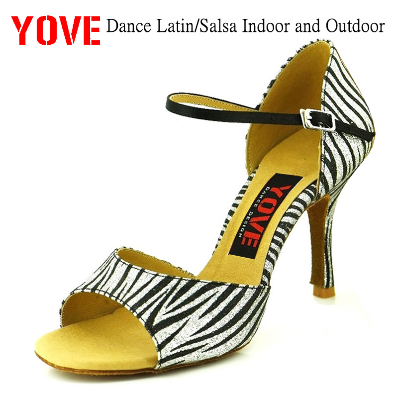 YOVE Style LD-3046 Dansskor Bachata / Salsa Inomhus- och Utomhusskor - Gymnastikskor