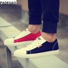 Весна Лидер продаж мужские туфли комфортный дышащий Повседневный в итальянском стиле; комплект обувь парусиновая обувь в Корейском стиле; мужская обувь на плоской