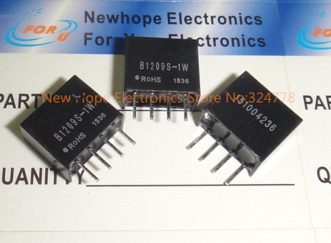 20Pcs Dc-Dc B0509S B0509S-1W SIP4 Mornsun 1W 5V To 9V Boost Up New Ic ss