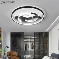 Mavesan Acrylic Around bedroom lights ceiling for living room Plafond 10 25square meters Lighting fixtures lampe led plafond