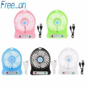 Portable LED Light Mini Fan Ai