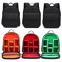 Fashion Backpack Nylon Waterproof Shockproof Bag For Nikon Canon 5D Mark III Cameras Bags Photography Package B LXX9