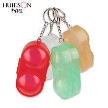 Container-Box Table-Tennis-Ball Case Ping-Pong-Ball Huieson with Keychain Gift Hard-Plastic