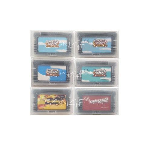 Harvest Moon Series Friends of Mineral Town Game Driver Series Cartridge Console Card for 32 bit Handheld Player Console System