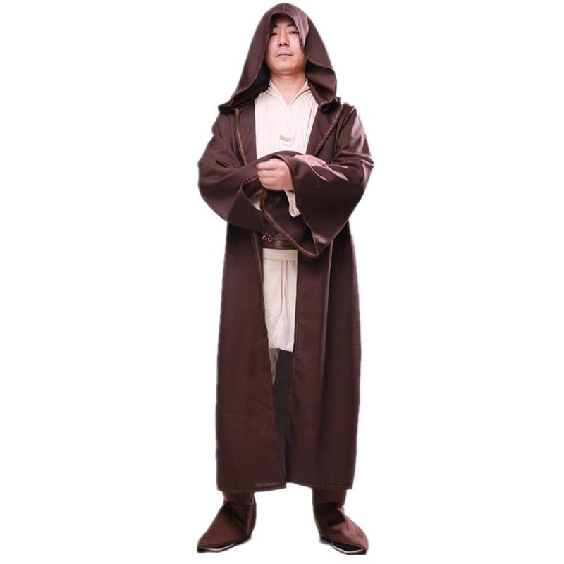 Obi-Wan Kenobi UMHANG Star Wars Herren-Kostüm Mantel Gewand Cape Starwars Jedi