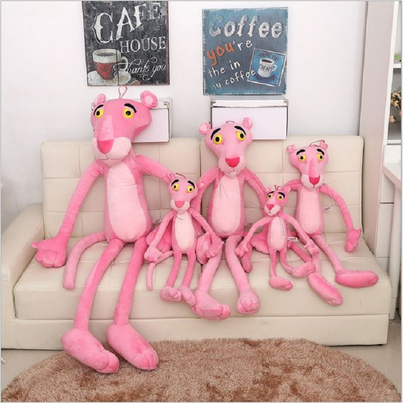 1Pcs 50cm Pink Panther Plush Toys Cute Sofa Decorations Stuffed Animal Kids Gift For Babys#ML0192