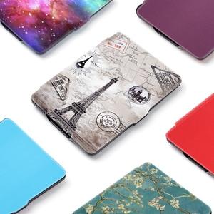 case for funda kobo clara HD N249 Ultra Slim magnetic Smart stand PU Leather cover for kobo clara Clear hd case(China)