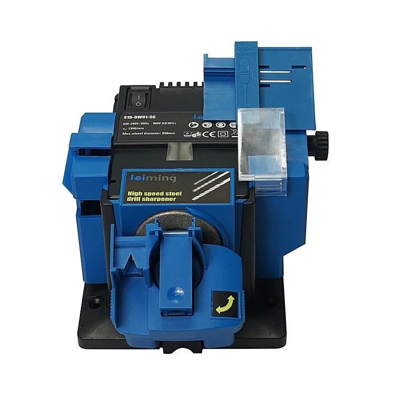 Neue Ankunft Multi-funktion Kleine Grinder S1D-DW01-56 Homehold Einfache Schleifen Bohrer Schleifen Maschine 220-240 v 96 W 1350 rpm 6-51 m
