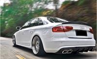 Carbon fiber CAR REAR WING TRUNK SPOILER FOR Audi A5 S5 RS5 MTM SLINE 2009 2010 2011 2012 2013 2014 2015 2016 2017