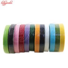30Yard 12mm Self-adhesive Paper Tape Floral Stem for Garland Wreaths DIY Craft Artificial Silk Flower 1 Roll Florist