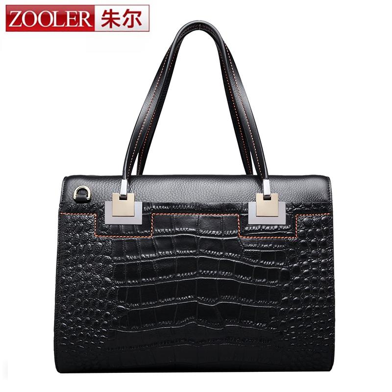 Limited !!ZOOLER bags handbags women famous brands women leather bag Superior material top quality genuine leather bag # 6115 zooler bags handbags women famous brands superior cowhide soft leather women bag fashion girls bolsas limited embossed 2110