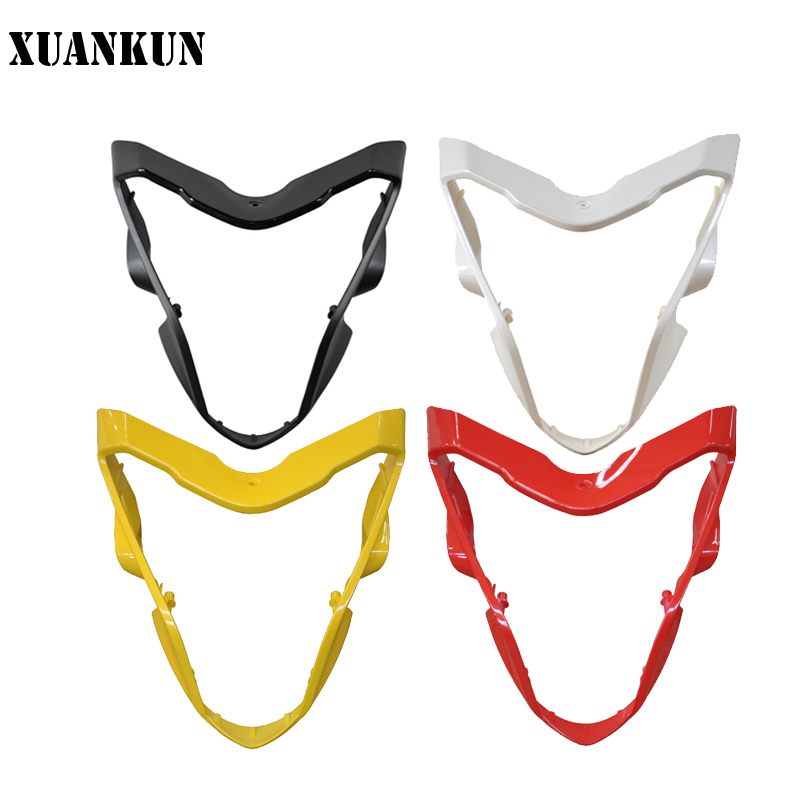 XUANKUN Motorcycle Accessories LX650 / CR9 Shroud Headlamp Cover Hood xuankun vintage motorcycle modified coffee saddle cover seat cushion cover hump tail shell tail hood