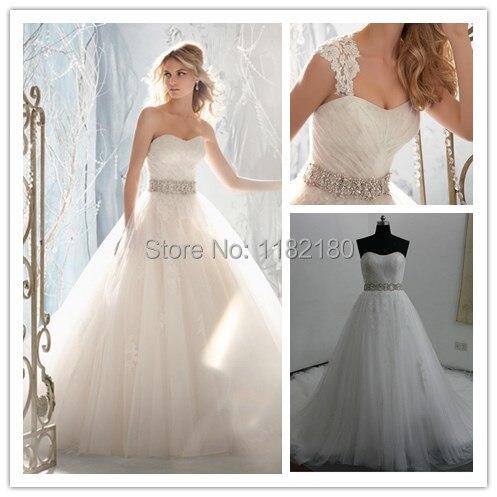 2015 A Line Wedding Dresses Wedding Dresses Ebay Open Back White ...