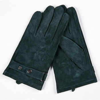 Gours Winter New Men Genuine Leather Gloves Pigskin Mittens Matte Leather 5 color Fashion Brand Driving Warm Gloves GSM001