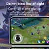 Okrągły joystick gry dla telefonu komórkowego Rocker tablet Android iPhone metalowy przycisk kontroler Easy Chicken kolacja z przyssawki